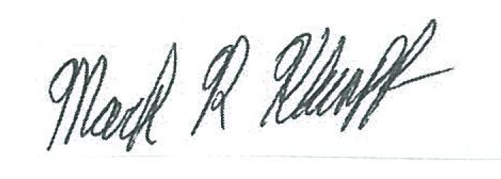 Mark Klumpp Signature