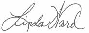 Linda Ward Signature
